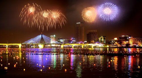 Ngây ngất với lễ hội bắn pháo hoa quốc tế Đà Nẵng